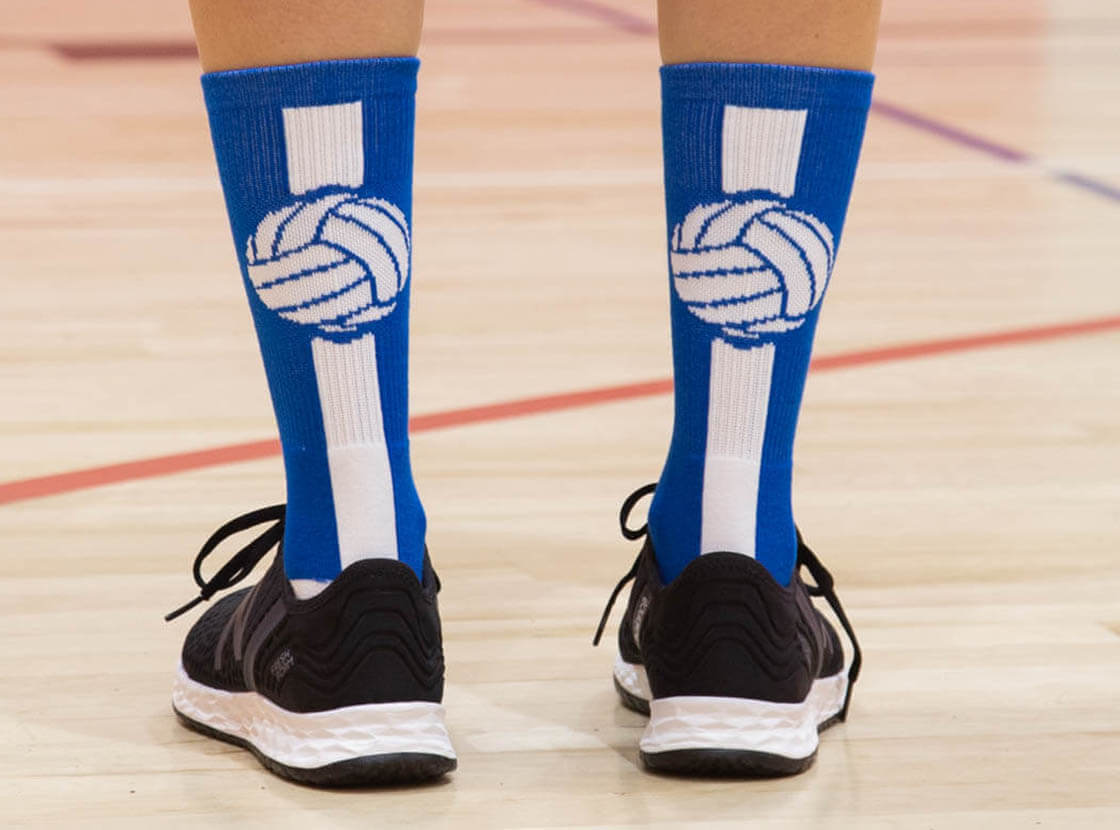 Shop Our Volleyball Mid-Calf Socks