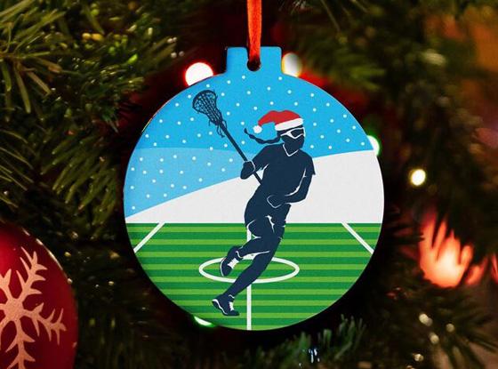 Shop All Girl's Lacrosse Ornaments