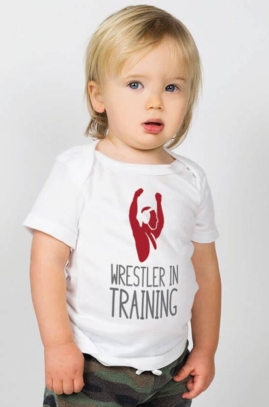 Shop Wrestling Baby Tops