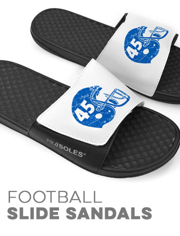 Football Slide Sandals