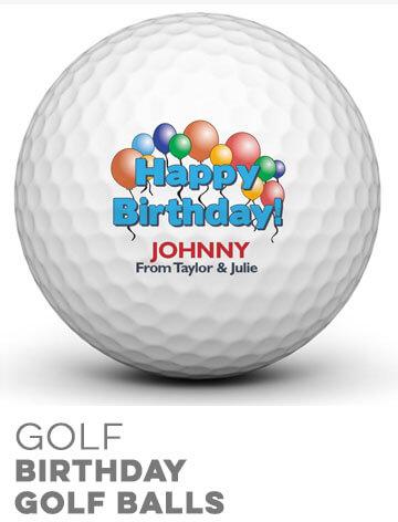 Birthday Golf Balls