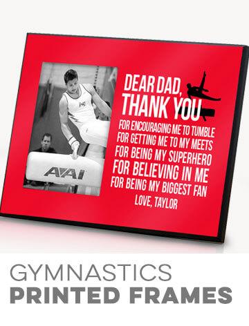 Gymnastics Printed Frames