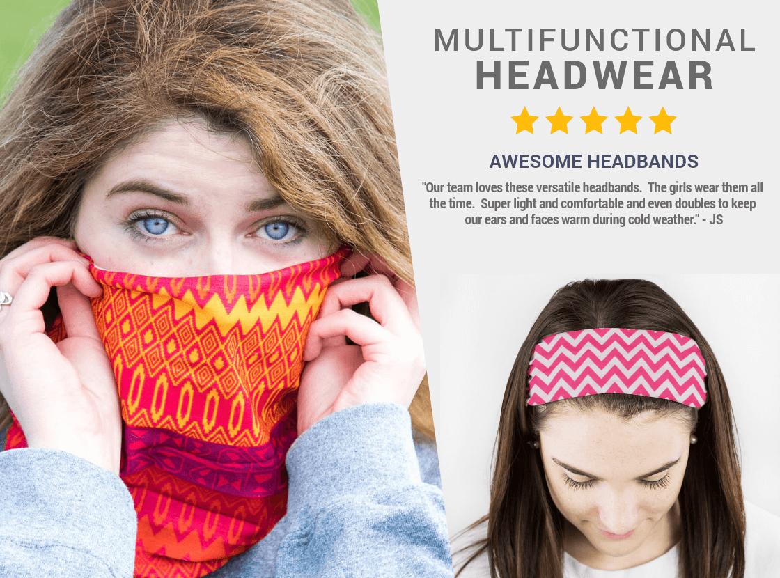 Shop our RokBANDS & Face Masks