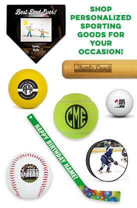 Shop Our Personalized Sporting Goods