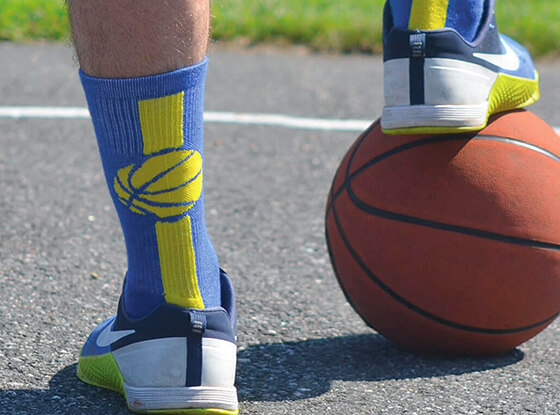 Shop our Basketball mid-calf Socks