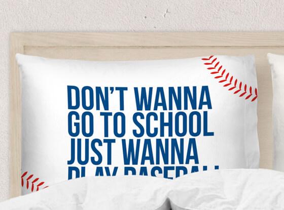 Shop our #baseballlife pillowcases