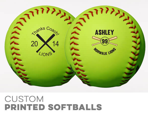 Custom Softballs