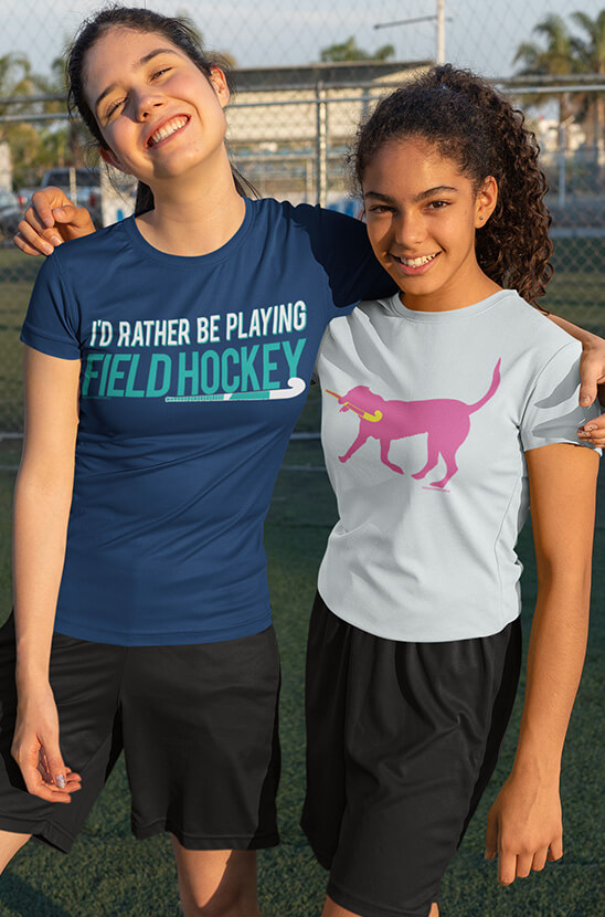 Shop Our Field Hockey Tees