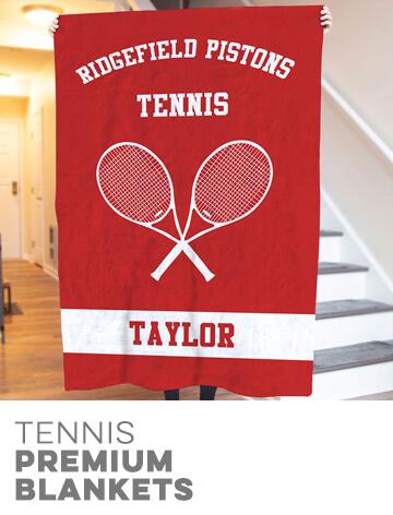 Tennis Premium Blankets