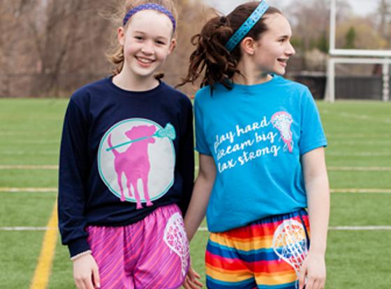 Shop Girls Lacrosse Shirts