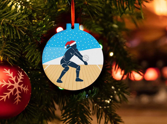 Shop All Volleyball Ornaments