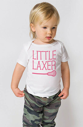 Little Laxer Baby T-Shirt