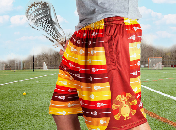 Shop Lax Now Gobble Later Shorts