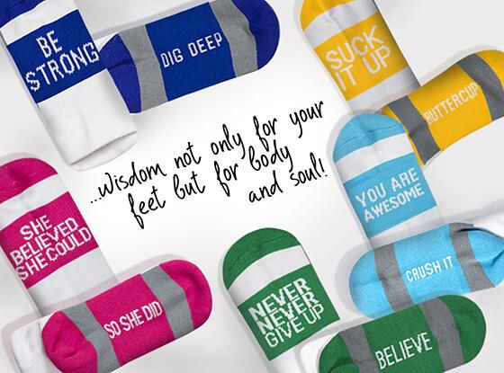 Inspirational Socks