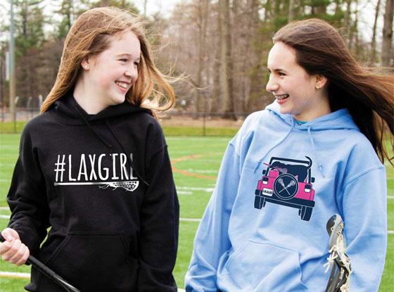 Shop All Girls Lacrosse Sweatshirts