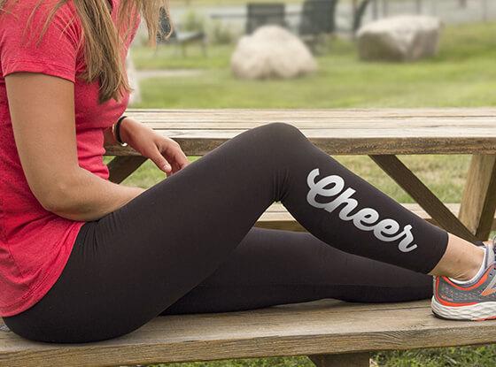 Shop our Cheer Leggings