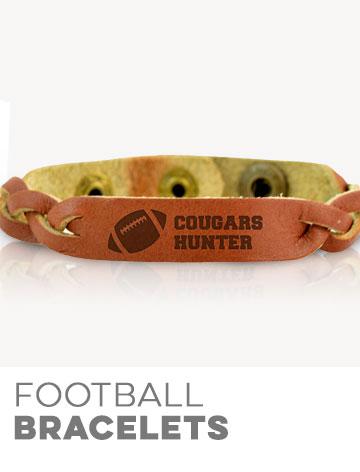 Football Bracelets