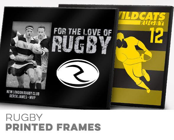 Rugby Printed Frames