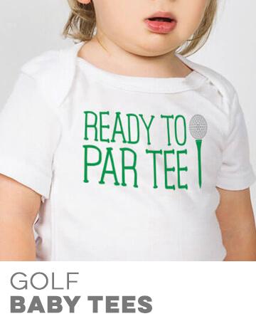 Golf Baby Tees