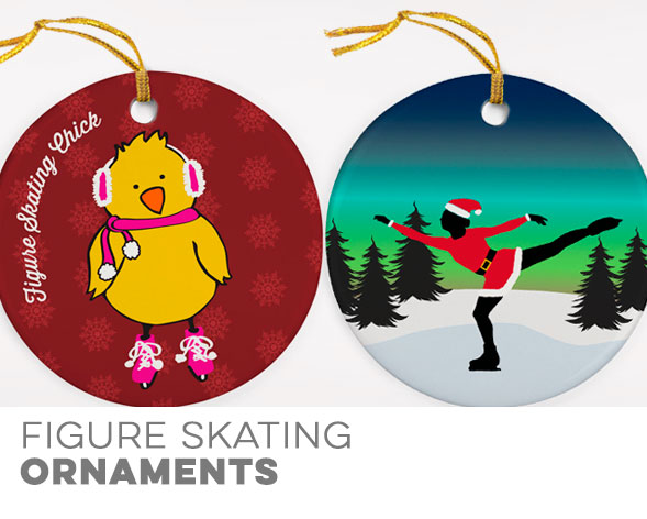 Figure Skating Ornaments