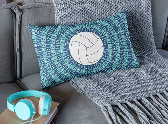 Shop Volleyball Pillowcases