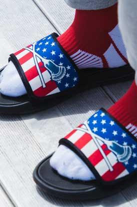 Shop Our Lacrosse USA Slides