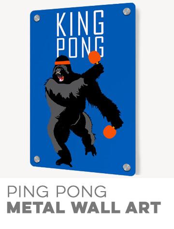 Ping Pong wall Art