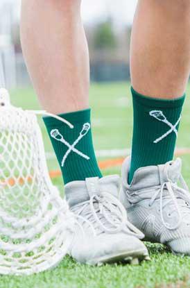Shop Guys lacrosse Mid-calf Socks