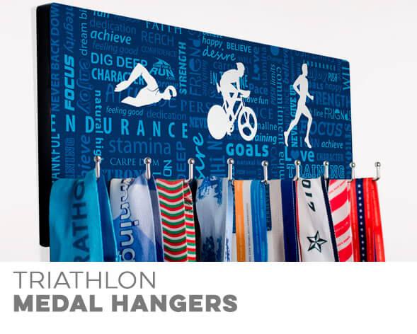 Triathlon Medal Displays
