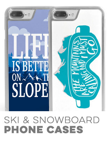 Skiing & Snowboarding Phone Cases