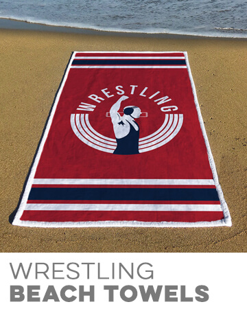 Wrestling Beach Towels