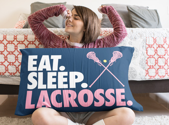 Shop Girls Lacrosse Pillowcases