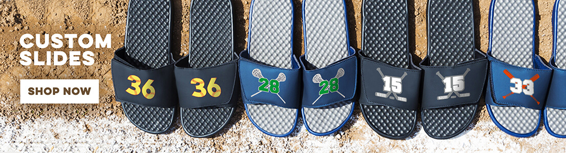 NEW Slide Sandals from ChalkTalkSPORTS!
