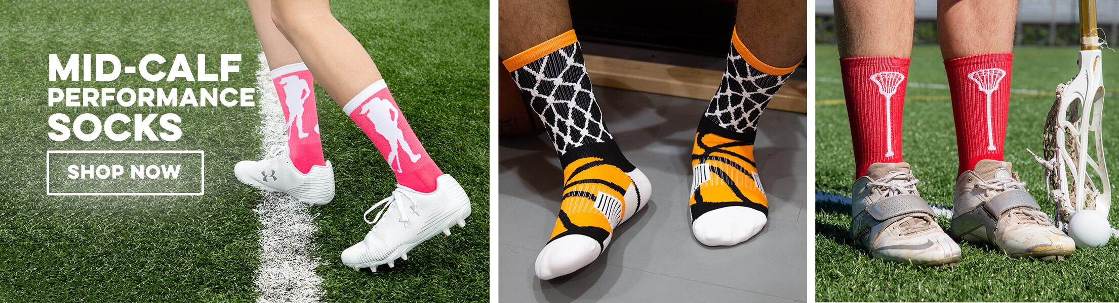 Mid-Calf Performance Socks