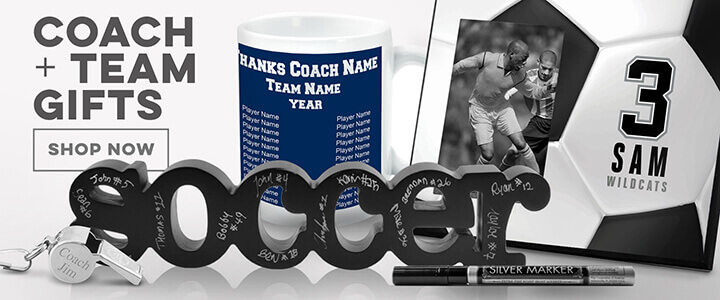 Soccer Coach + Team Gifts