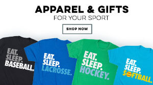 Shop ChalkTalkSPORTS.com For Great Eat Sleep Sports Gifts