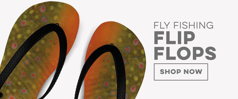 Fly Fishing Flip Flops