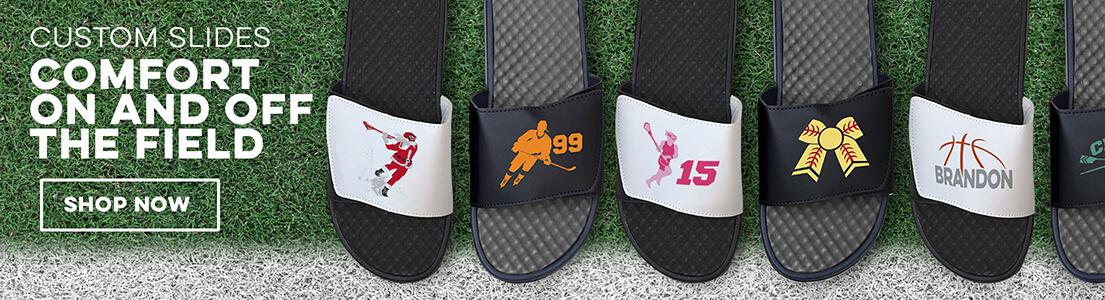 NEW Slide Sandals from ChalkTalkSPORTS!