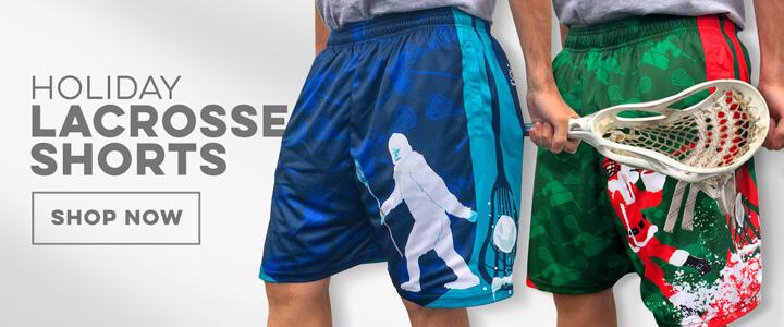 Guys Lacrosse Holiday Shorts