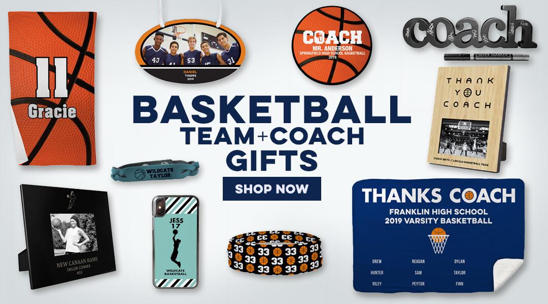 basketball team + coach gifts