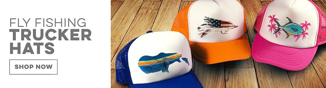 Fly Fishing Trucker Hats