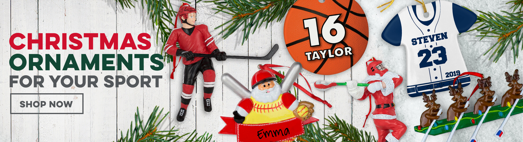 Christmas Ornaments For Your Sport