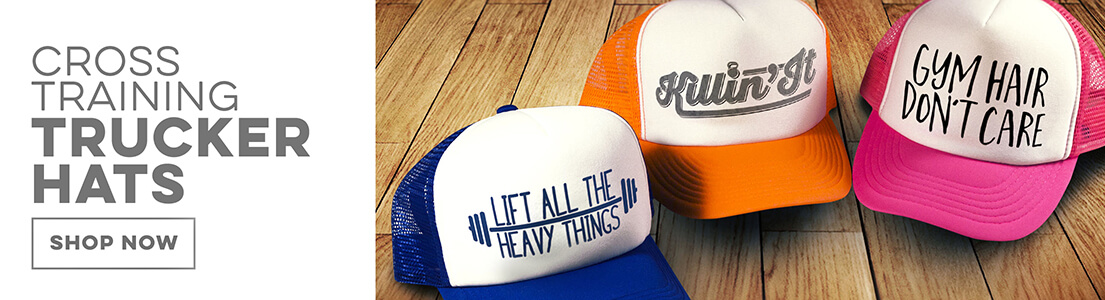 Cross Training Trucker Hats