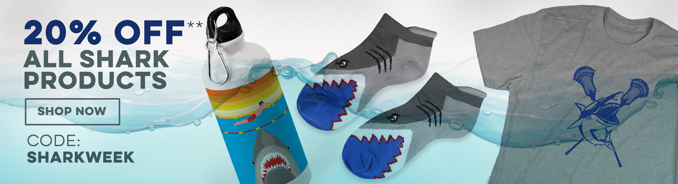 20% Off Shark Week Products