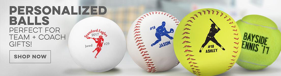 Personalized Balls from ChalkTalkSPORTS!