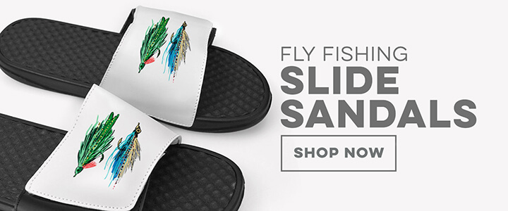 Fly Fishing Slide Sandals