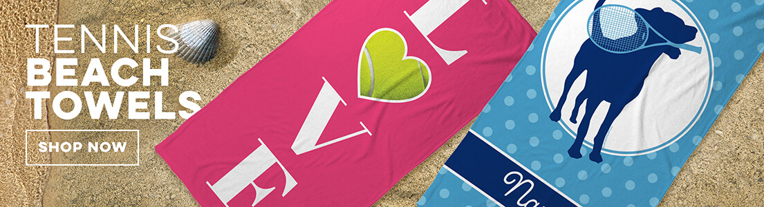 Tennis Beach Towels