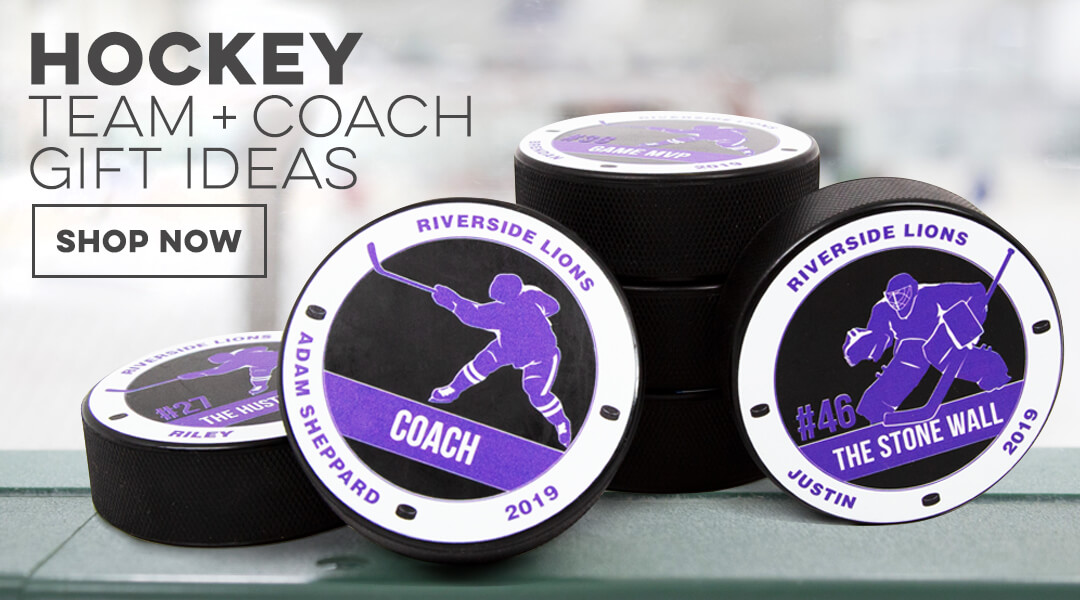 hockey team + coach gifts