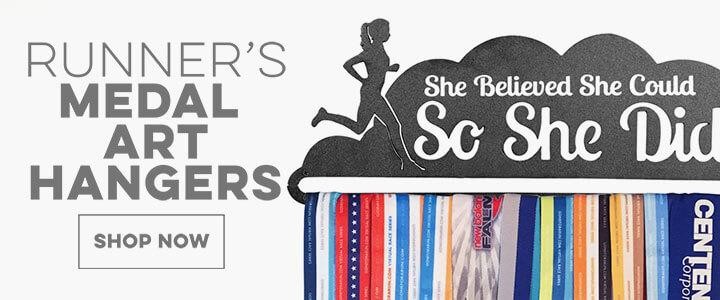 Running Medal Hangers